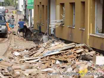 Flutkatastrophe: In den Katastrophengebieten droht neuer Starkregen - Bietigheim-Bissingen - Bietigheimer Zeitung