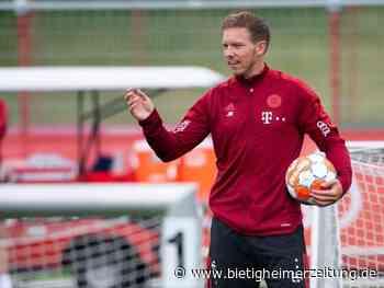 Saisonvorbereitung: Knifflige Testwoche für Nagelsmann und die Bayern - Bietigheimer Zeitung
