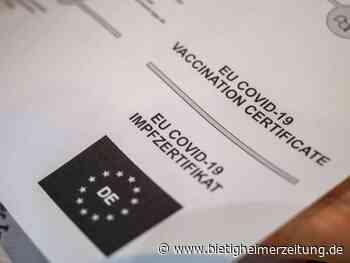 Corona-Pandemie: Ausstellung von Impfzertifikaten in Apotheken gestoppt - Bietigheimer Zeitung