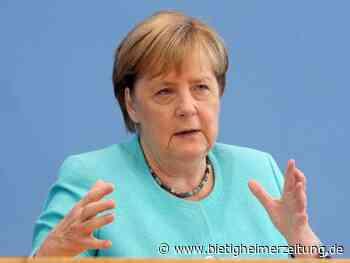 Letzte Sommerpressekonferenz: Merkel ruft künftige Regierung zu Reformbereitschaft auf - Bietigheimer Zeitung