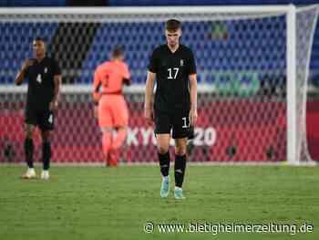 Olympisches Fußball-Turnier: DFB-Auswahl mit Olympia-Fehlstart gegen Brasilien - Bietigheimer Zeitung