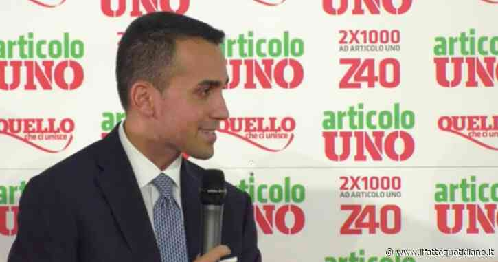 """M5S, Di Maio: """"Saremo forza strutturale e grazie a Giuseppe Conte potremo allargare la coalizione per governare ancora"""""""