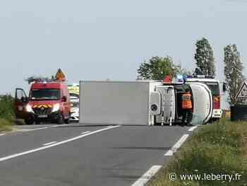 Collision sur la rocade de Bourges, porte de Saint-Amand : des blessés, la circulation rétablie - Le Berry Républicain