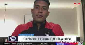 Raziel García expresó su deseo de jugar por Alianza Lima | VIDEO - El Comercio Perú
