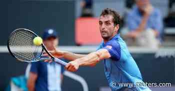 ATP roundup: No. 2 Roberto Bautista Agut upset in Switzerland - Reuters