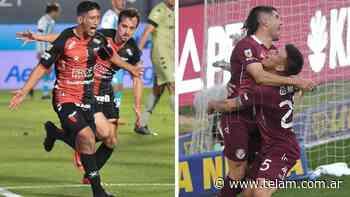 Colón y Lanús se enfrentan en Santa Fe por la Liga Profesional - Télam