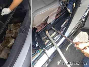 Pillan en Colón carro preñado con 152 paquetes de droga - El Siglo Panamá