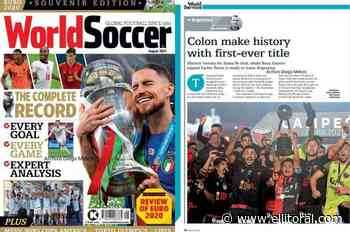 La revista europea World Soccer reconoció a Colón por su campeonato - El Litoral