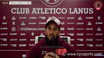 Luis Zubeldía adelantó el equipo de Lanús para visitar a Colón - TyC Sports