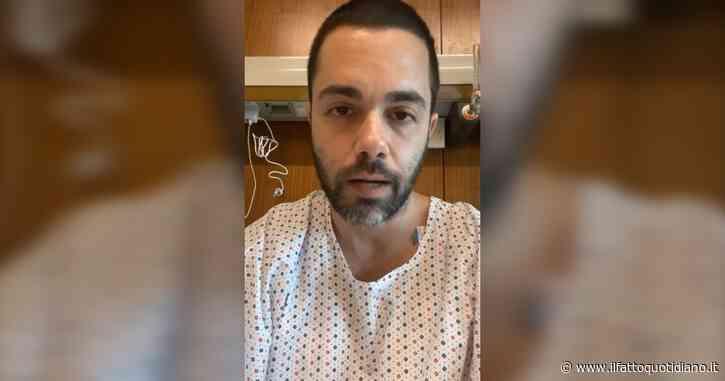 """Santo Giuliano, l'ex di Amici: """"Arresto cardiaco e miocardite dopo prima dose di Pfizer. Non dico di non fare il vaccino, ma attenti ai sintomi"""""""