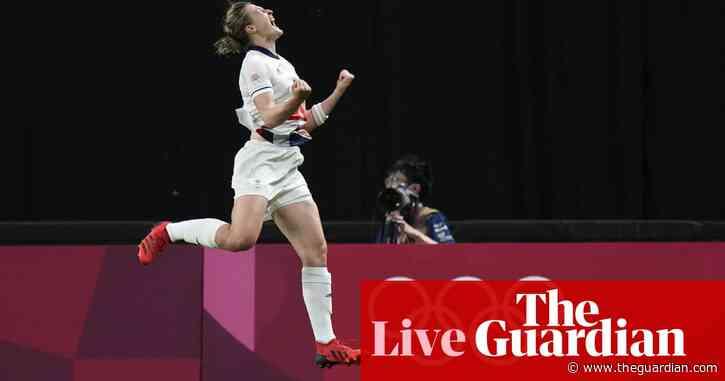 Olympics 2020: Team GB beat Japan in football, plus swimming – live!