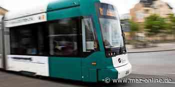 Potsdam: Ab 31. Juli bis 5. August 2021 keine durchgehende Tram-Verbindung - Märkische Allgemeine Zeitung