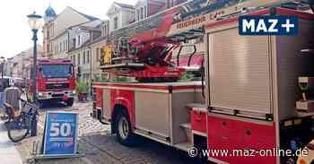 Potsdam: Feuerwehr-Einsatz auf der Brandenburger Straße am Freitag - Märkische Allgemeine Zeitung