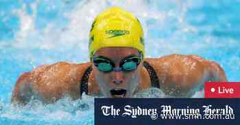 Tokyo Olympics LIVE updates: Australians star in the pool; Matildas pay for Kerr penalty miss