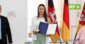 Ronnenberg: Judoka Anna Olek aus Weetzen erhält Verdienstmedaille - Neue Presse
