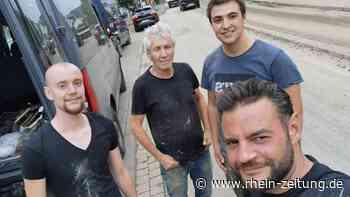 Unterstützung aus dem Kreis Neuwied: Winzer helfen ihren Kollegen an der Ahr - Rhein-Zeitung