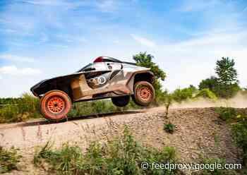 Audi RS Q e-tron unveiled for 2022 Dakar Rally