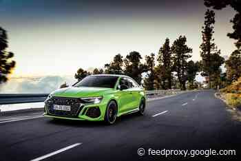New Audi RS3 available to order