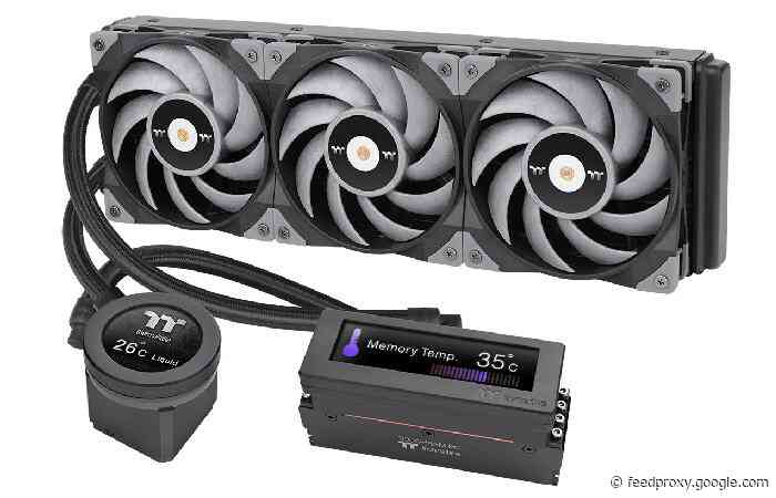 Thermaltake Floe RC Ultra and ToughLiquid Ultra AIO liquid CPU coolers
