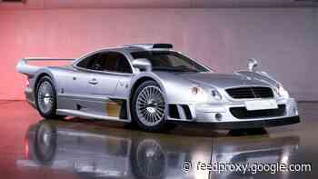 Incredibly rare Mercedes-Benz AMG CLK GTR heads to auction