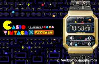 Casio Namco Pac-Man A100 digital watch unveiled