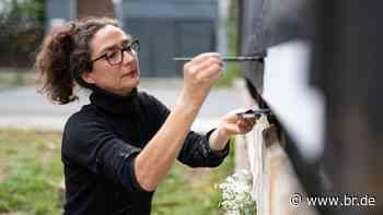 Wolfram-von-Eschenbach-Preis für Künstlerin Inge Gutbrod - BR24
