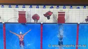 'WTF': Photo exposes swimming controversy as Aussie golden girl appears to be dudded