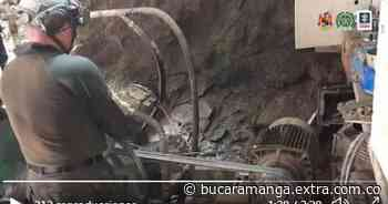 [VIDEOS] Intervenido un gigantesco complejo minero ilegal en Antioquia - Extra Bucaramanga