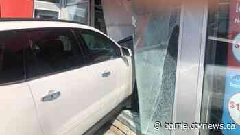 SUV crashes through window exterior of Orangeville drug store - CTV Toronto