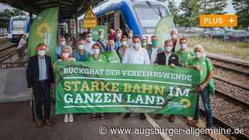 Landsberg: Grüne machen Druck bei der Fuchstalbahn