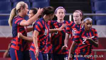 USWNT bounce back with big win over New Zealand