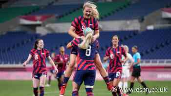 USWNT thrash NZ to recover from shock loss