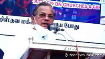 Pastor George Ponniah arrested in TN for creating communal unrest, threatening Hindus