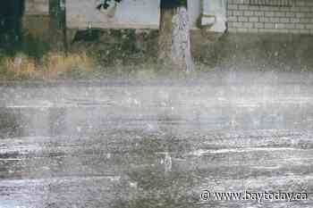 Heavy rain expected this afternoon