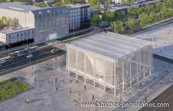 Attribution du marché d'aménagement de la gare Le Bourget Aéroport - Affiches Parisiennes