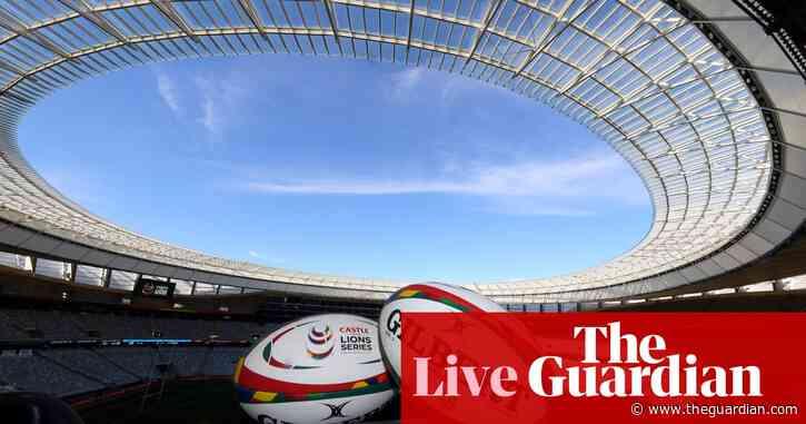 South Africa v British & Irish Lions: first Test – live!