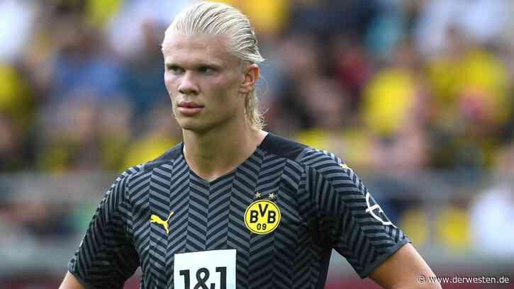 Borussia Dortmund – Bilbao: Kurios! Haaland-Autogramm während des Spiels - Der Westen