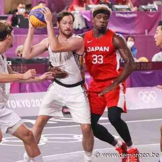 Live - Belgische 3x3-basketbalploeg verliest na nagelbijter tegen gastland Japan
