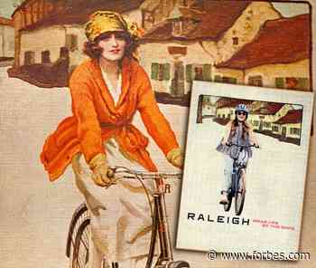 Raleigh Updates Century-Old Poster To Promote Women's Festival Of Cycling - Forbes