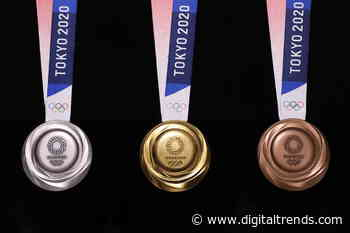 Olympic medals made from recycled electronics finally get a chance to shine - Digital Trends