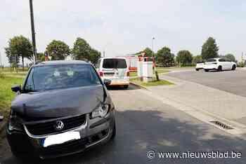 Stoffelijke schade bij ongeval op kruispunt