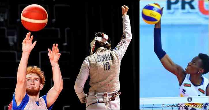 Olimpiadi, le 18 medaglie in palio sabato 25 luglio: gli azzurri in gara (orari e tv). Dal fioretto femminile all'esordio di basket e volley