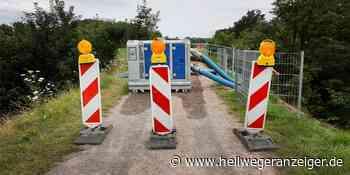 Sesekeweg bleibt nach Überschwemmung gesperrt   Bergkamen Kamen - Hellweger Anzeiger