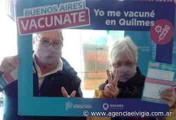 Quilmes vacunó a casi el 85% de los inscriptos - Agencia El Vigía