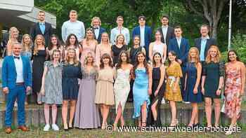 Abschluss am WG Nagold - Ihr Abi-Motto: Nie ohne mein Teams - Schwarzwälder Bote