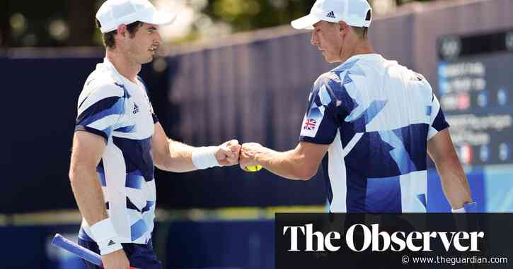 Andy Murray advances in men's doubles as tennis players suffer in Tokyo heat - The Guardian