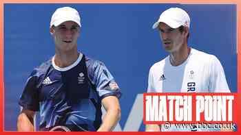 Andy Murray & Joe Salisbury: Team GB duo win first round doubles match at Tokyo Olympics - BBC News