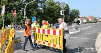 Sperrung an der Heidenoldendorfer Straße ist aufgehoben   Lokale Nachrichten aus Detmold - Lippische Landes-Zeitung
