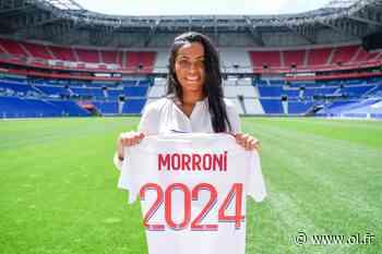 Perle Morroni s'engage avec l'Olympique Lyonnais jusqu'en 2024 - Olympique Lyonnais