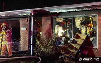 Incendio deja dos heridos en El Paso - El Diario